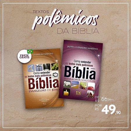 COMBO   TEXTOS POLÊMICOS DA BÍBLIA