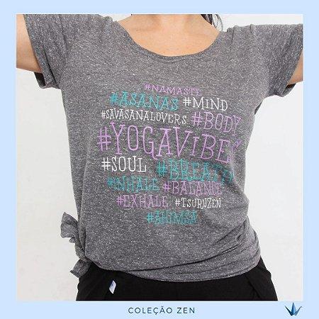 Camiseta Yoga Amarração