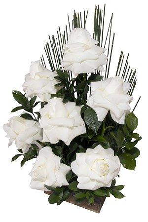 Arranjo de Flores Affetto di fiori branco