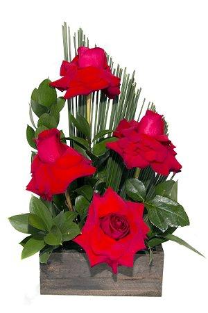 Arranjo de Flores Sabor da paixão