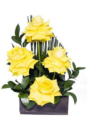 Arranjo de Flores Sabor de alegria