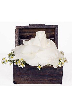 Arranjo de Flores White and White