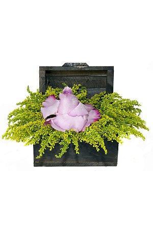 Arranjo de Flores Tesouro Lilás