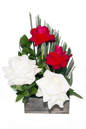 Arranjo de Flores Peace and love