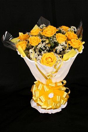 Buquê de Flores Yellow roses