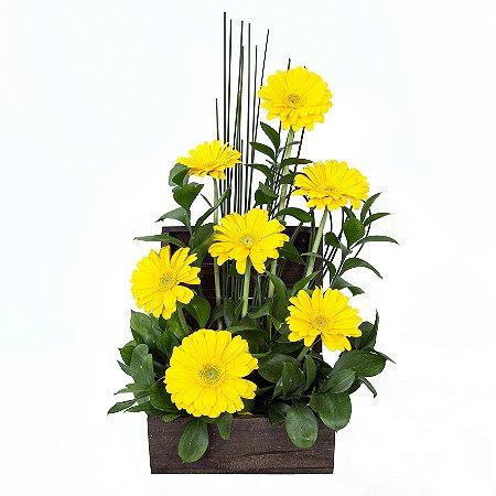 Arranjo de Flores Alegria e sorriso