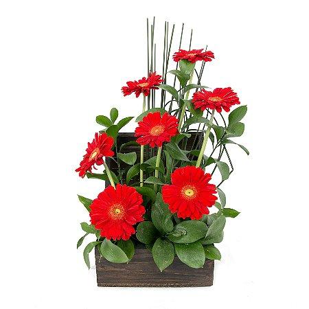 Arranjo de Flores Amor e sorriso