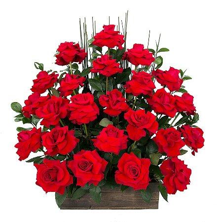 Arranjo de Flores Eu te amo