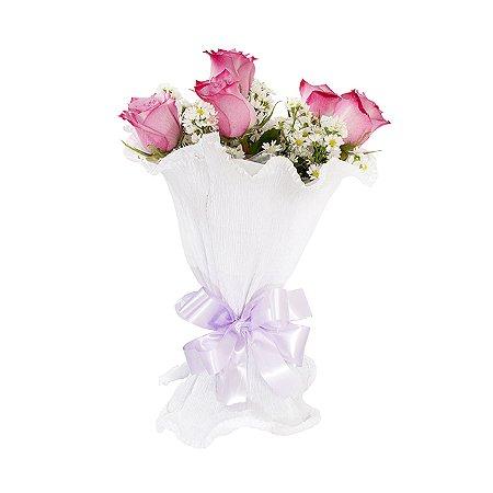 Buquê de Flores Fagulha Purple