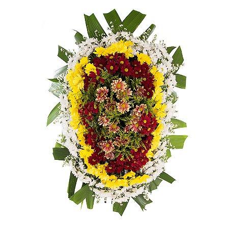 Coroa Funerária Grande Campestre 130cm
