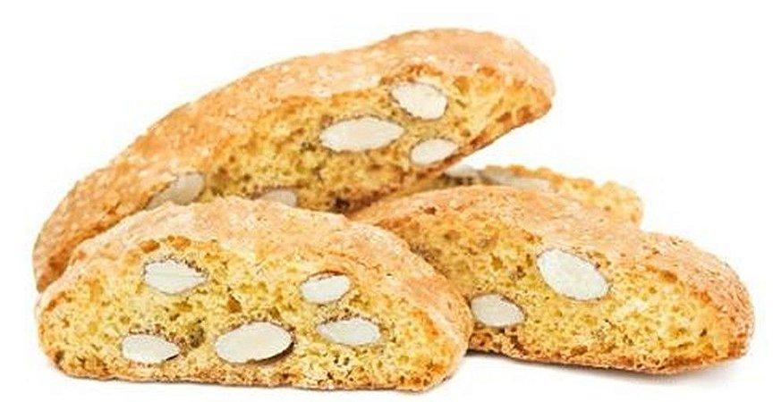 Cantuccini - biscoito adocicado com sabor e lâminas de amêndoas - peso 200g
