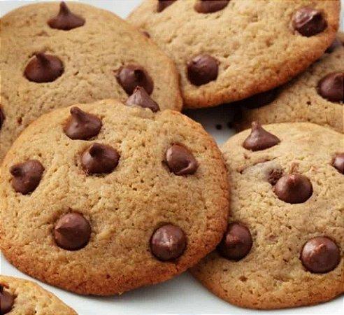 Cookies - delicioso biscoito de baunilha com gotas de chocolate - peso 200g