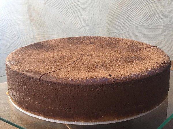 Cheescake de chocolate meio amargo uma deliciosa  torta muito cremosa , 1,2 kg serve 8 fatias