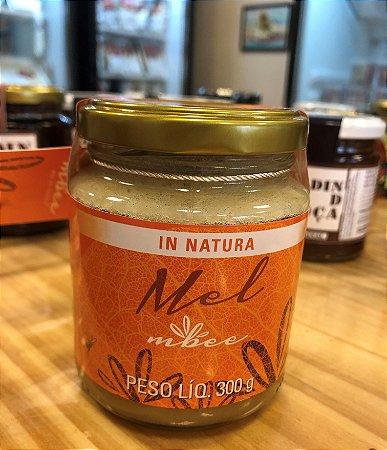 Mel In natura, 100% natural, apenas com uma filtragem grossa e textura cristalizada, proporcionando um adocicado perfeito. Peso 300g