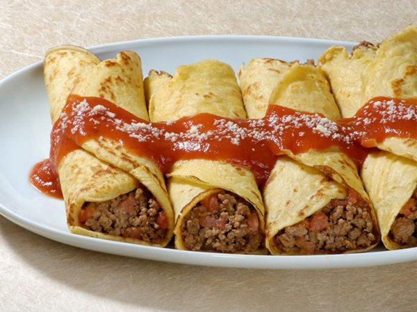 Panqueca tradicional de carne pacote 500 g - 4 unid, ideal para refeições leves. Só aquecer.