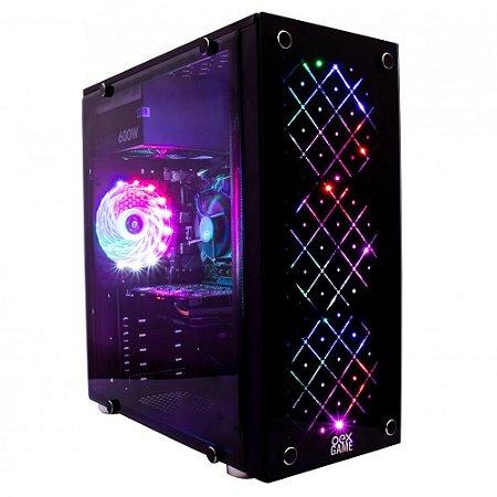 GABINETE VORTEX GH100 C/ 4 FAN RGB OEX GAME