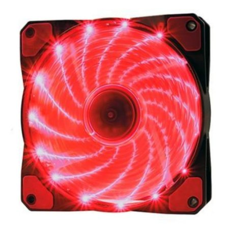 COOLER FAN 15 LEDS VERM F20 OEX GAME