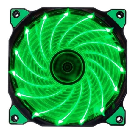COOLER  FAN POLAR WIND GREEN 1100RPM