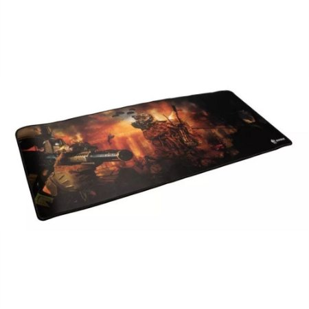 MOUSEPAD GAMER EVOLUT EG-402 RED 70x30 CM