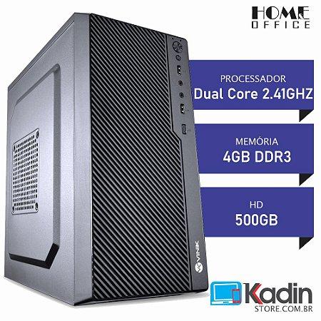 COMPUTADOR DUAL CORE 2.41GHZ / 4GB DDR3 / HD 500GB