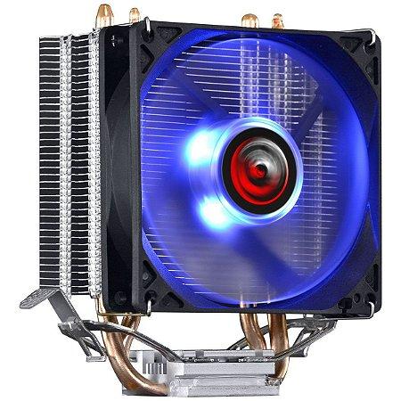 COOLER PARA PROCESSADOR PCYES KZ2 LED AZUL (INTEL/AMD) 92MM