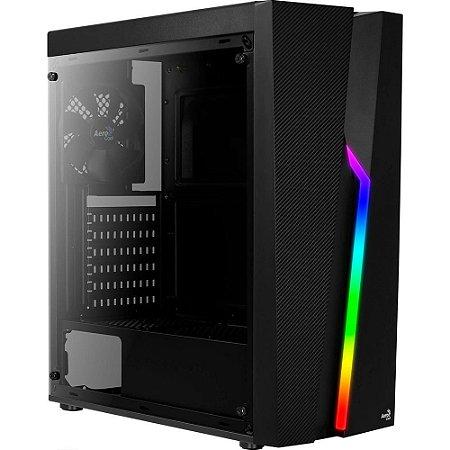 GABINETE AEROCOOL RGB BOLT COM 1 FAN