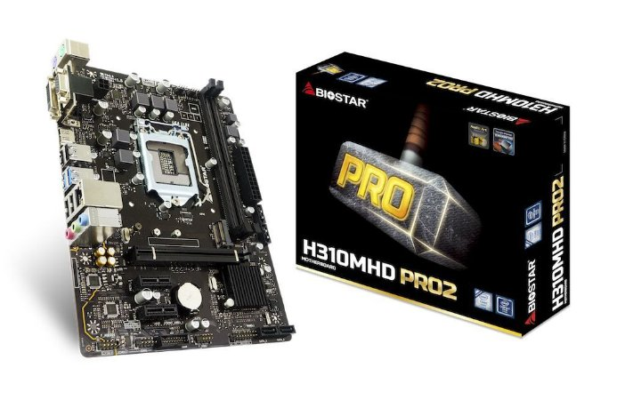 PLACA MAE BIOSTAR   H310MHP 1151 9/8G DDR4