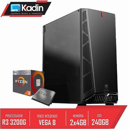 COMPUTADOR KADIN RYZEN 3 3200G / 8GB DDR4 / SSD 240GB / 500W 80+ / DANDY