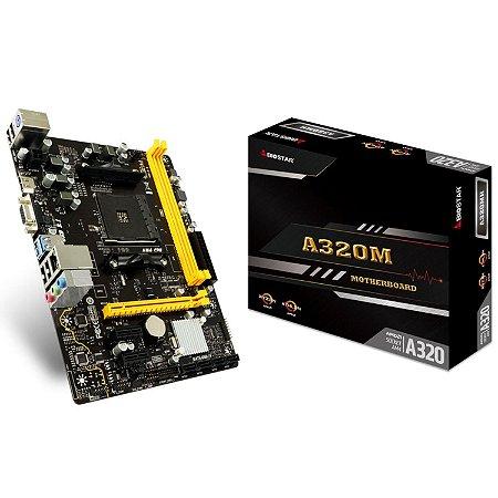 PLACA MAE BIOSTAR A320M AM4 DDR4