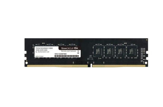 MEMORIA RAM DESKTOP TEAM GROUP 16GB DDR4  2666 ELITE