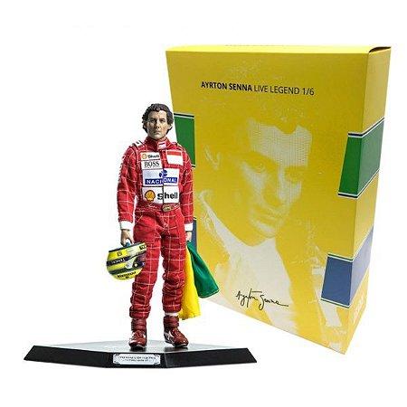 Ayrton Senna - 1/6 Live Legend