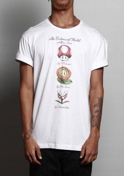 Camiseta The Botanical World of Mario