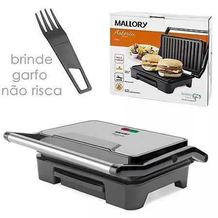Grill Sanduicheira Asteria Compact Mallory 900w Com Coletor