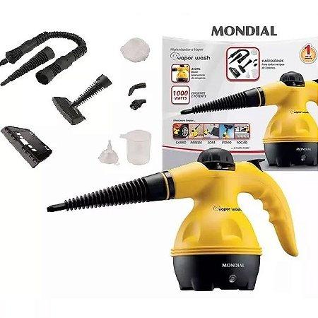 Vaporizador E Higienizador Vapor Premium Mondial Wash 9 Em 1