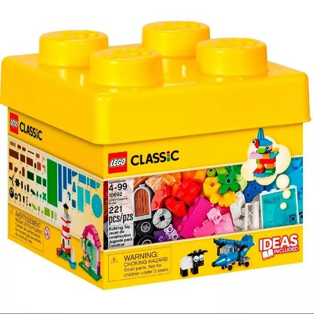 Kit Caixa De Lego Classic Peças Criativas 221 Peças