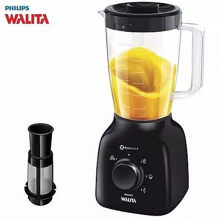 Liquidificador Philips Walita 500w Problend 3 Veloc + Filtro