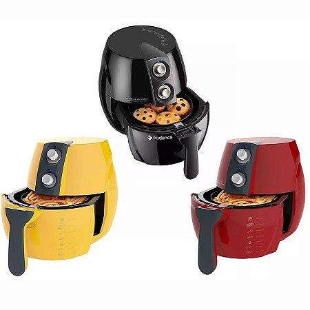 Fritadeira Sem Óleo Cadence Air Fryer Colorida Saúde 2,3 L