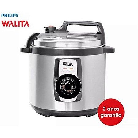 Panela De Pressão Philips Walita 5 Litros Elétrica Inox