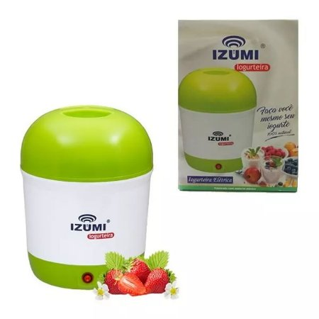 Iogurteira Elétrica Izumi 1 Litro Iogurte Natural Bivolt