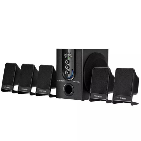 Home Theater Multi Home Mondial Subwoofer 5.1 Hdmi/usb/fm