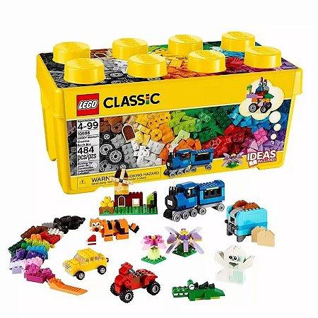 Lego Blocos De Montar Caixa Média Com 404 Peças Criativas
