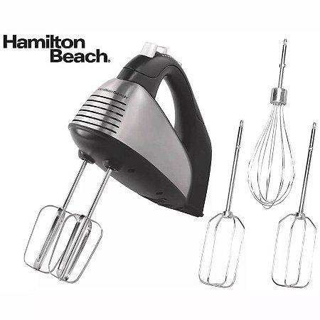 Batedeira Portátil Clássica Hamilton Beach 260w +5 Batedores