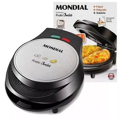 Omeleteira Fritadeira Elétrica Ovos Duo Mondial 1000w