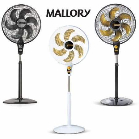 Ventilador De Coluna Turbo Silencioso 6 Pás Mallory 40cm