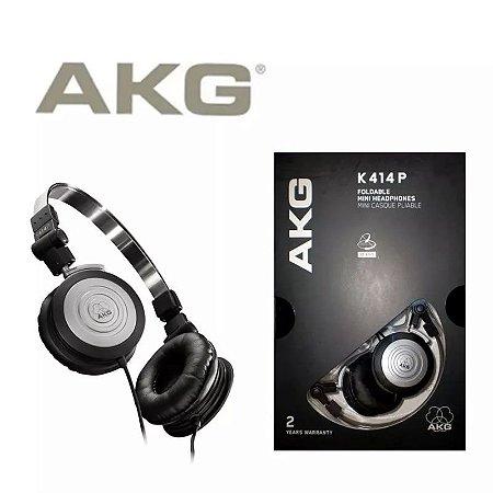 Fone De Ouvido Headphone Akg414p Profissional Dobrável