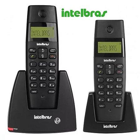 Telefone Sem Fio Intelbras Dect Ts 40 C Com Ramal