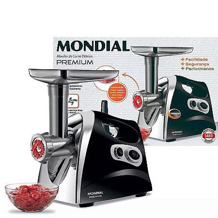 Moedor De Carne Elétrico Mondial Premium Mc03 500w
