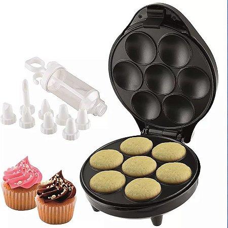 Máquina De Cupcake Britânia 1200w Faz Pão De Queijo, Torta