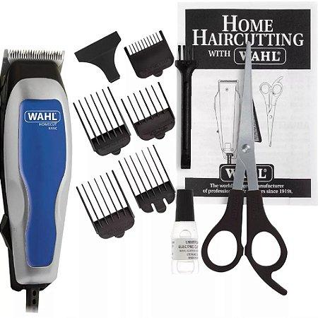 Máquina De Cortar Cabelo Home Cut Basic Wahl 5 Pentes
