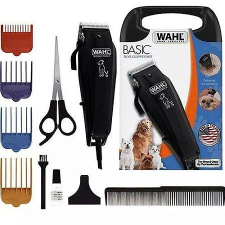 Máquina De Tosa Pets Wahl Clipper 4 Pentes - Basic Dog